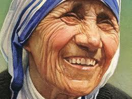mother teresa smiling