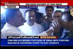 force feeding shv sena Rajan-Vichare
