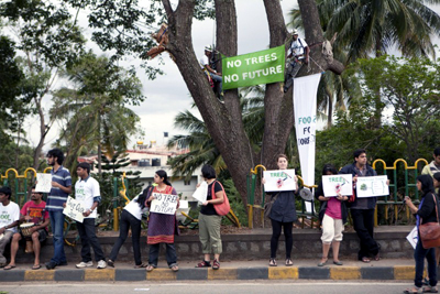protests green peace India