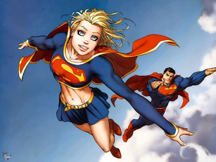 supergirl n superman