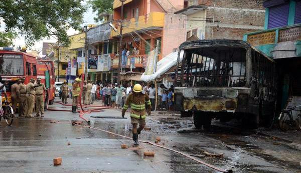 bus burnt j's jailing 270914
