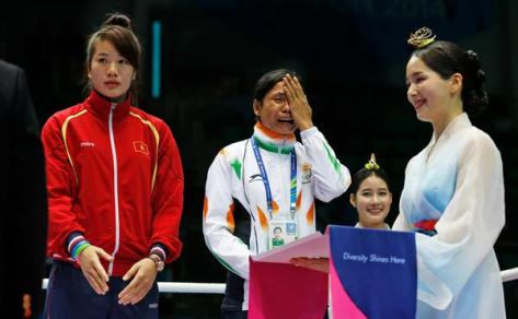 boxer sarita devi asian games korea 2014