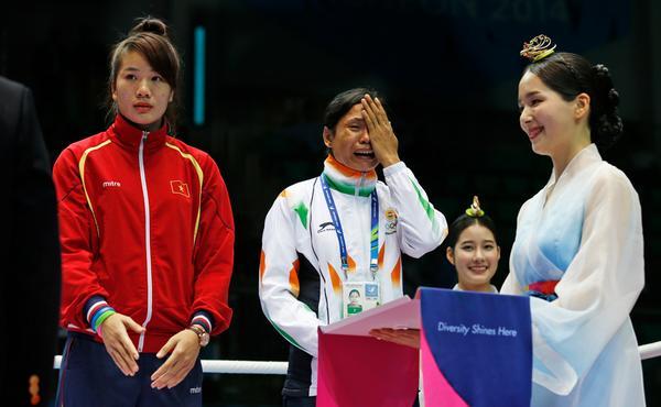 boxer sarita devi asian games korea 2014