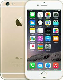 Apple iPhone 6 Gold, 64GB 62.5K