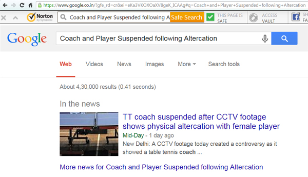 Player n coach suspended