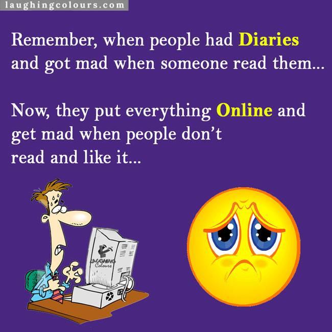 Diaries vs Online