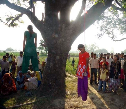 Minors Gang Raped and Hung