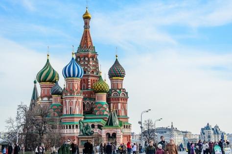 St Basil's cathedral, kremlin