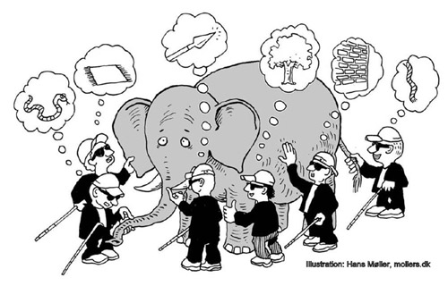 6 blind men and the elephant