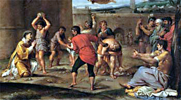 Stoning of Stephen and Paul