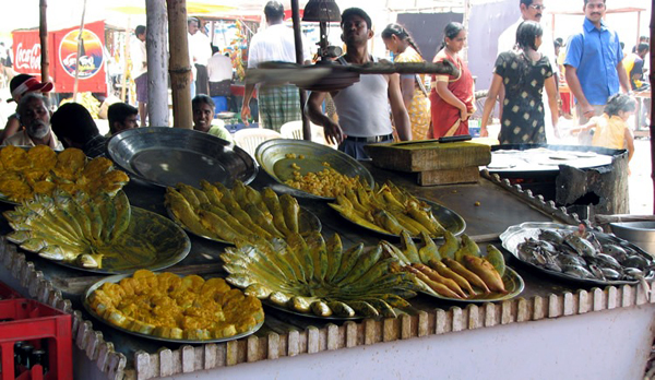 Fish Stalls of Velankanni