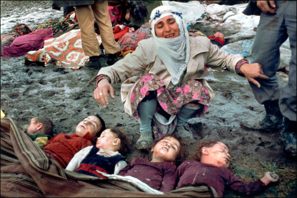 After an earthquake in Turkey 1983