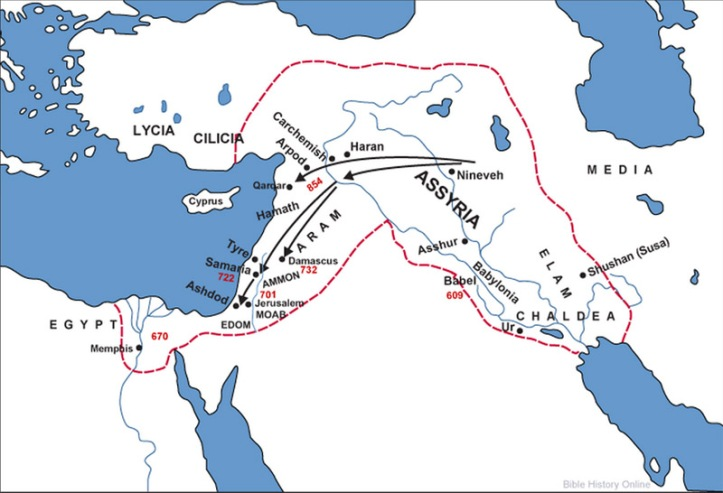 Egypt and Assyria