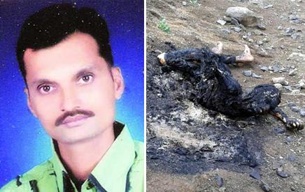 Journalist burnt to death