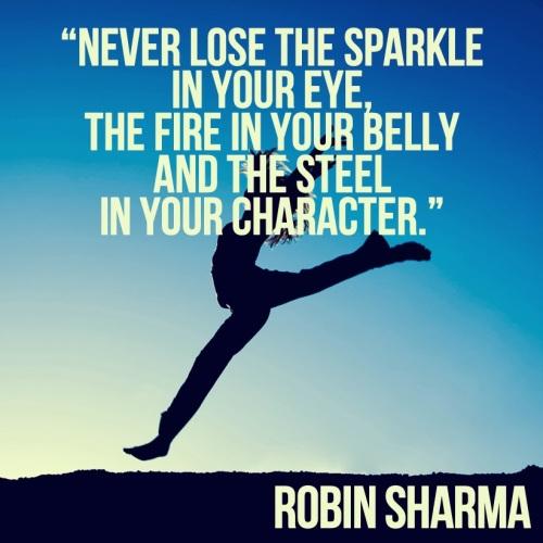 Fire in Belly Robin Sharma
