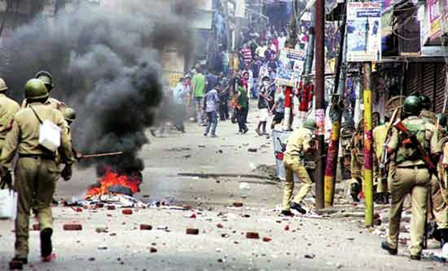 Communal riots, business affected