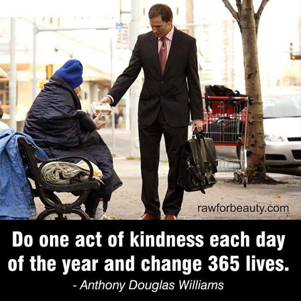 ONE act of kindness a day
