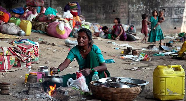 70% of India
