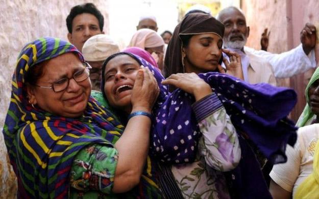 family of man killed over rumours of having eaten beef