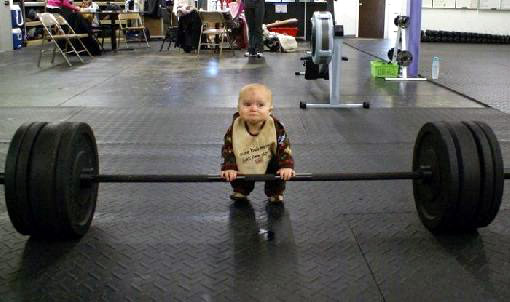 cute-baby-trying-to-lift-weights