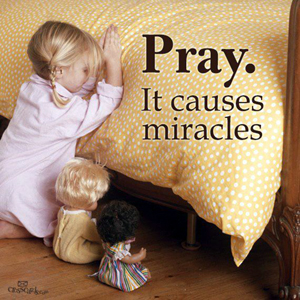 Prayer brings Miracles