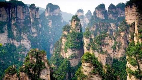 Awesome Tanzi mountains China