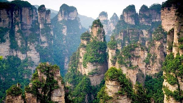 Awesome Tanzi mountains China