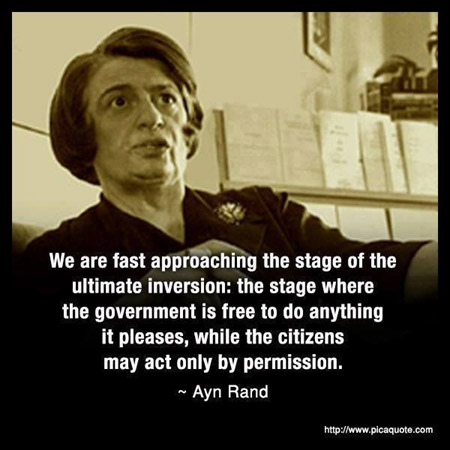 Ayn Rand on the government