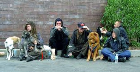 A Homeless Family in the US