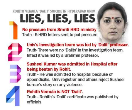 The Lies of a government minister caught