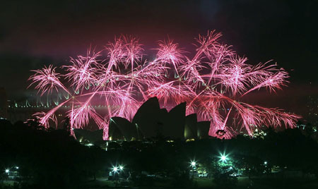 New Year celebrations Australia 2016
