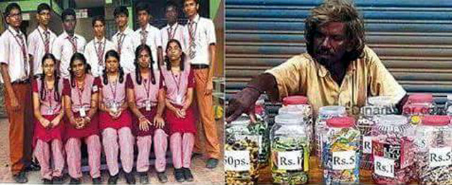 Children who helped a Beggar find a Living