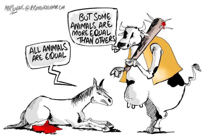 Unequal animals