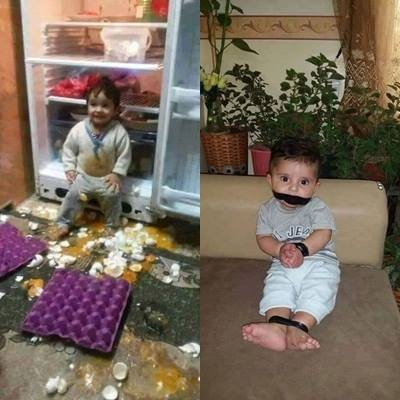 Child Fridge Tied