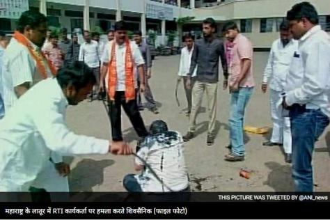 RTI activsts beaten up