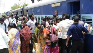 crowded trains