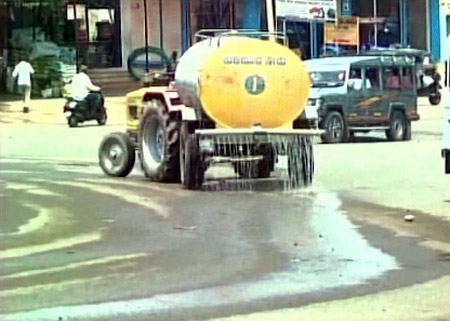 Water for KK CM 0416