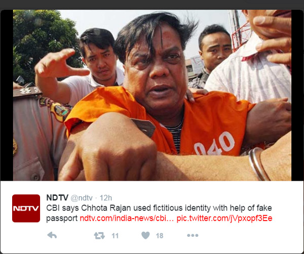 Indian gangster chhota rajan