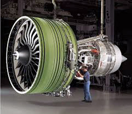 Largest Jet Engine GE90