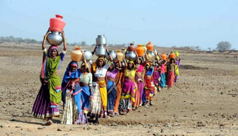 Water scarcity and the Long Walk
