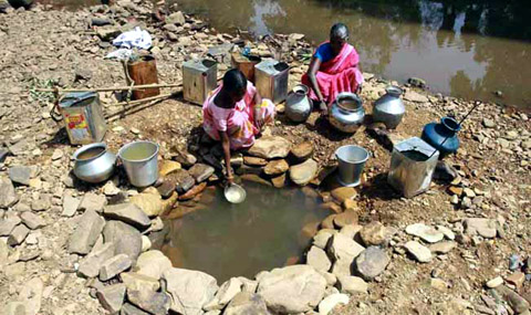 Water scarcity and the Puddle