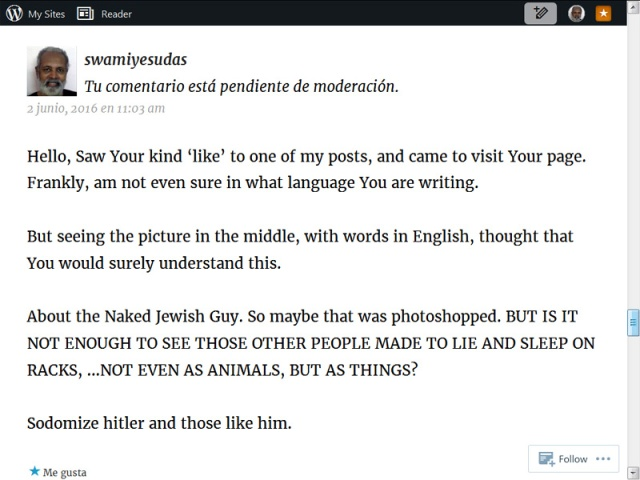 Jewish guy comments