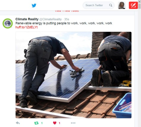 Solar Energy and Work!