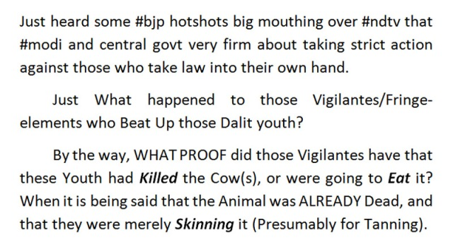 dalit youth strict action