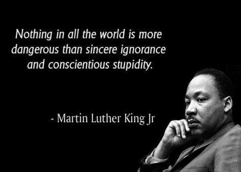 Martin L King quote