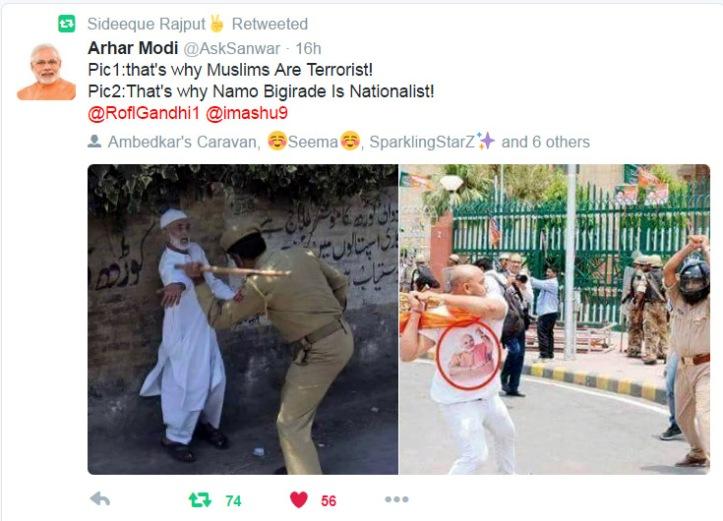 Muslim vs hindu
