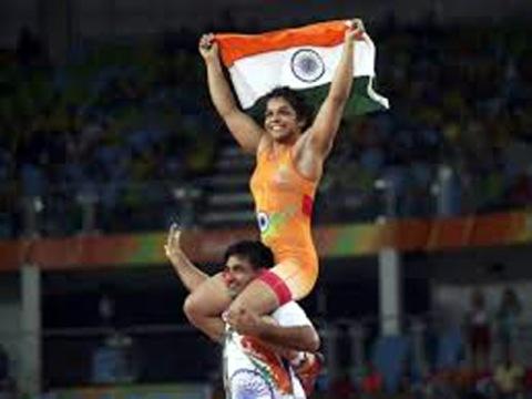 Sakshi Malik bronze wrestling Rio 2016