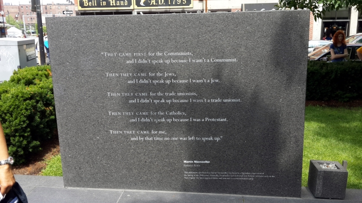 Martin Niemoeller memorial