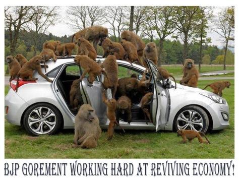 0 bjp govt economy